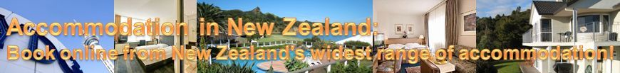 Accommodation in New Zealand: Book online from New Zealand's widest range of accommodation!